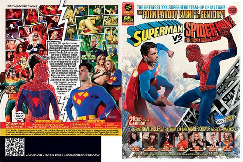 超人VS蜘蛛人情色版